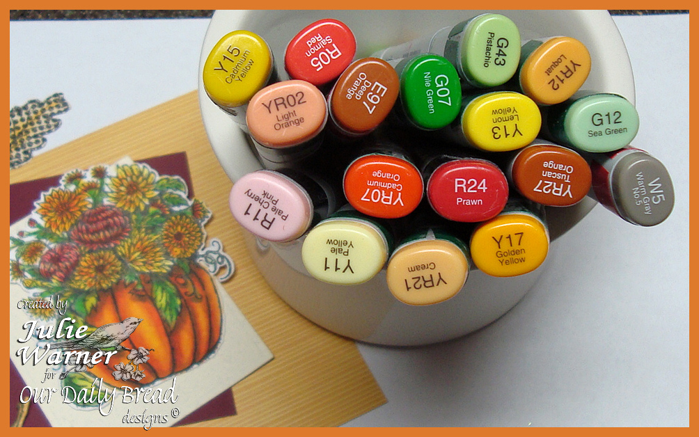 Flower Pumpkin copics 02074