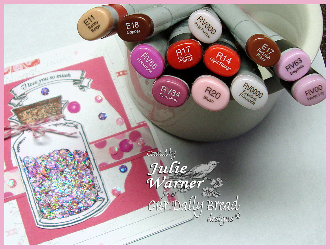 Julie Warner - http://thewritestuff.justwritedesigns.com