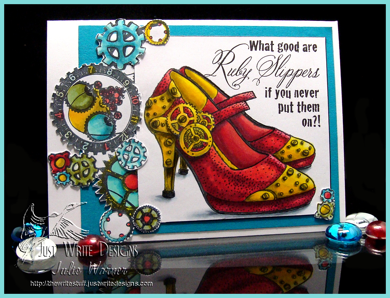 Ruby Slippers 03030