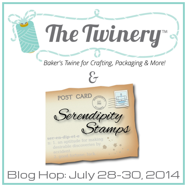 Twinery Blog Hop Badge - Serendipity Stamps