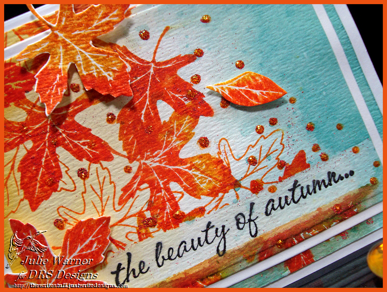 Autumn Watercolor cu04574