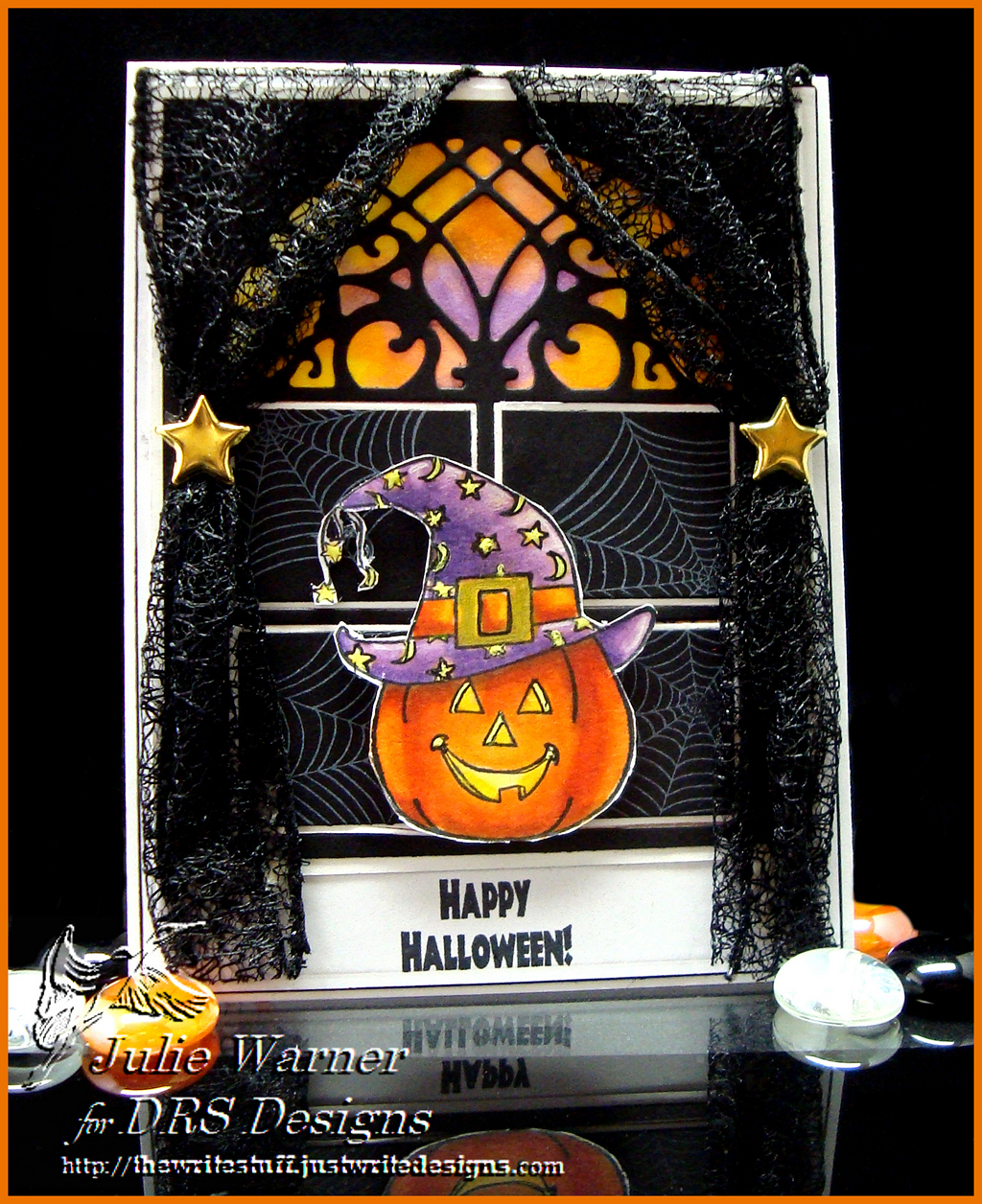 Halloween Curtains 04520