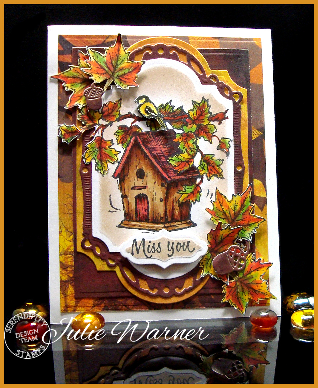 Autumn Birdhouse 04972