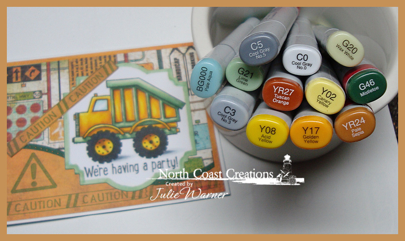 NCC Caution Party copics 05240