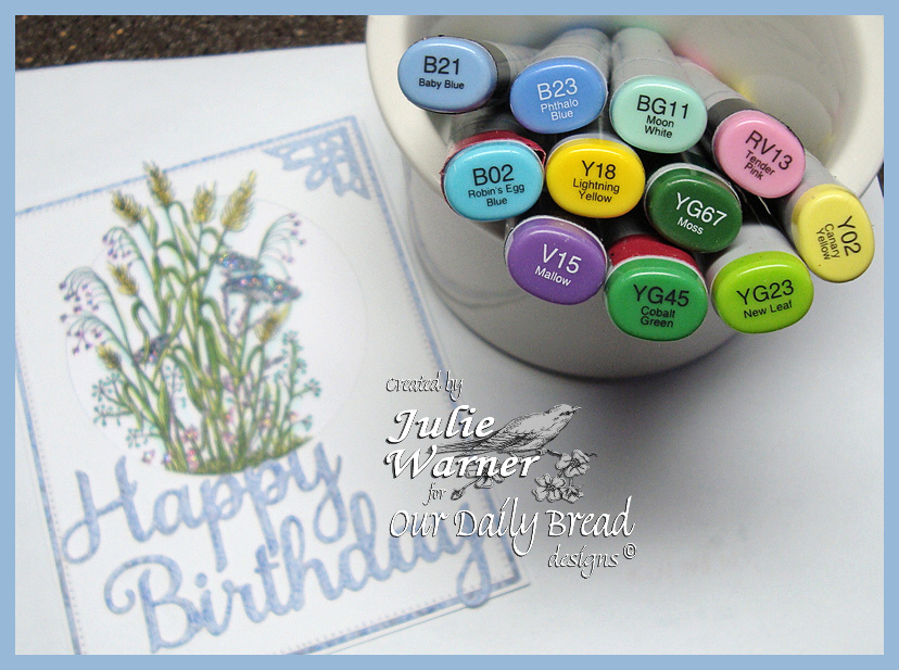 Bday Wildflowers copics 05483