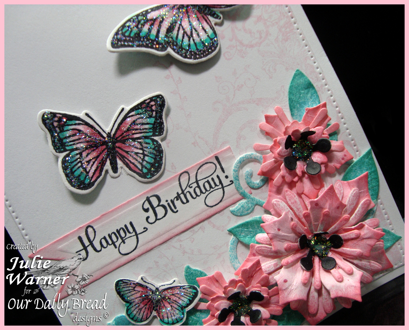 Butterfly Birthday cu 06498