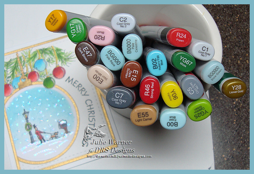 Half Ornament copics 04999