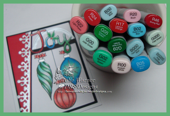 Joy Ornaments copics 07109