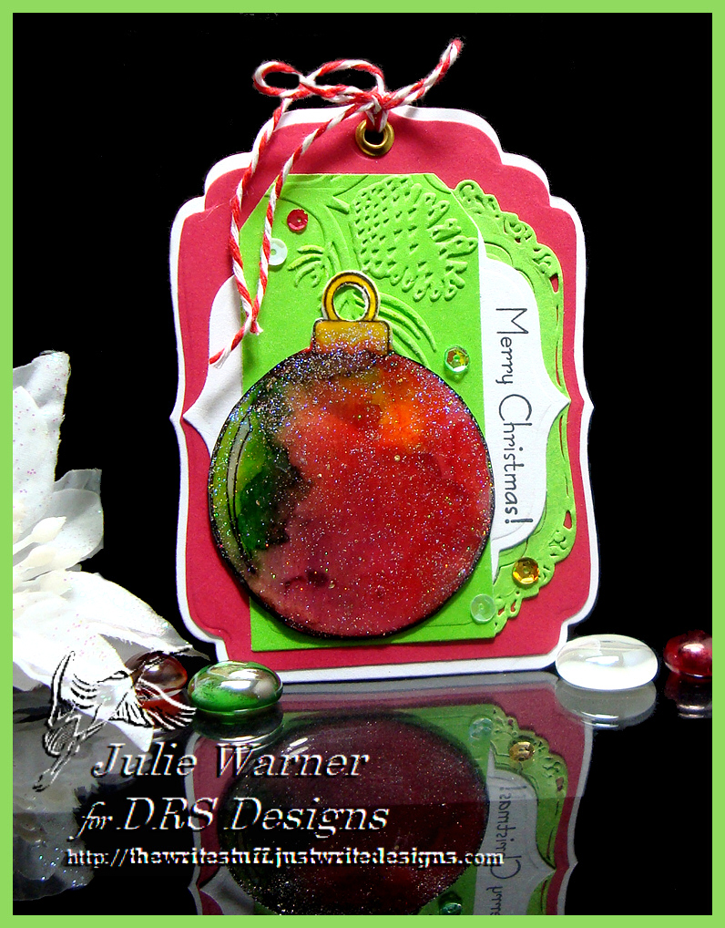 Ornament Tag 07894
