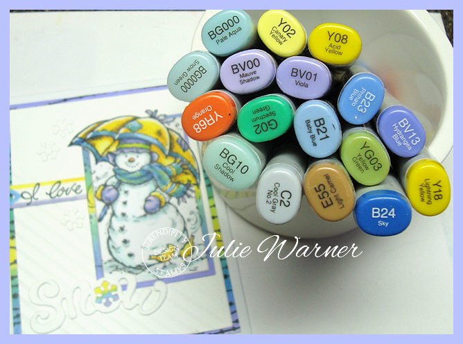 I Love Snowmen copics 08146