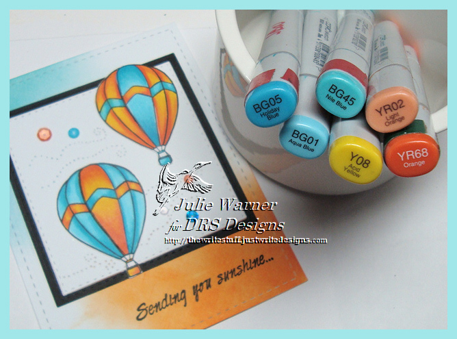 Sunshine Balloons copics 08939