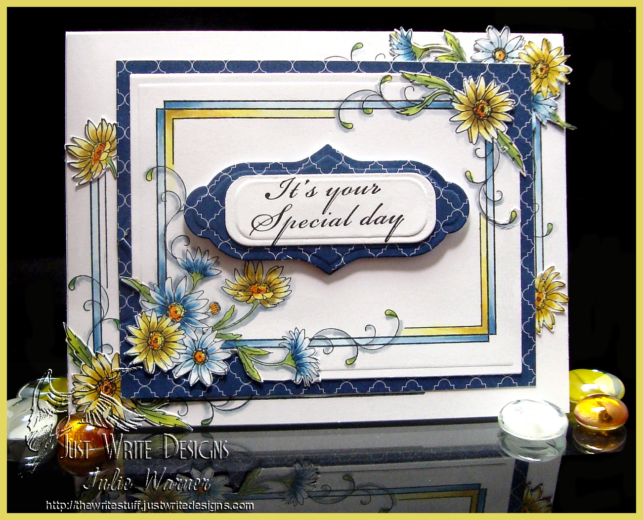 Sweet Stamps Flower Frame 02911