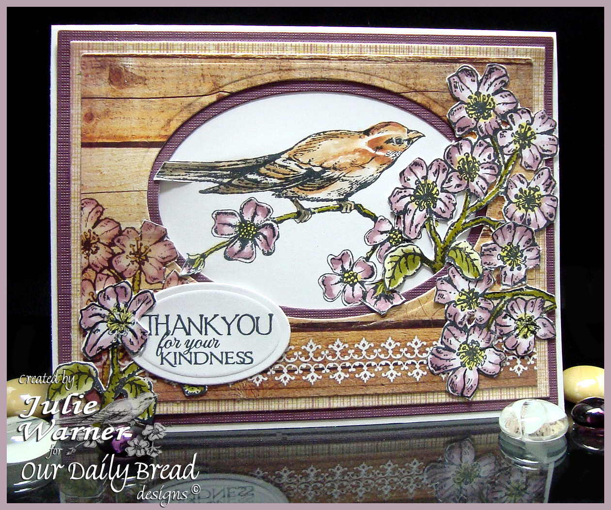 Bird & Cherry Blossom 03834