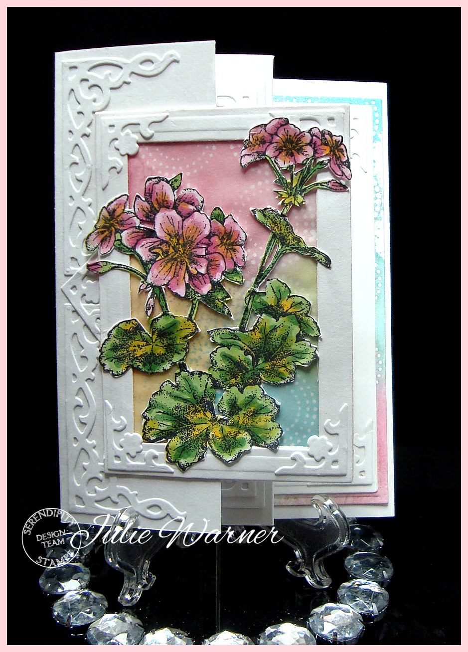 Geranium Accordion front 03926