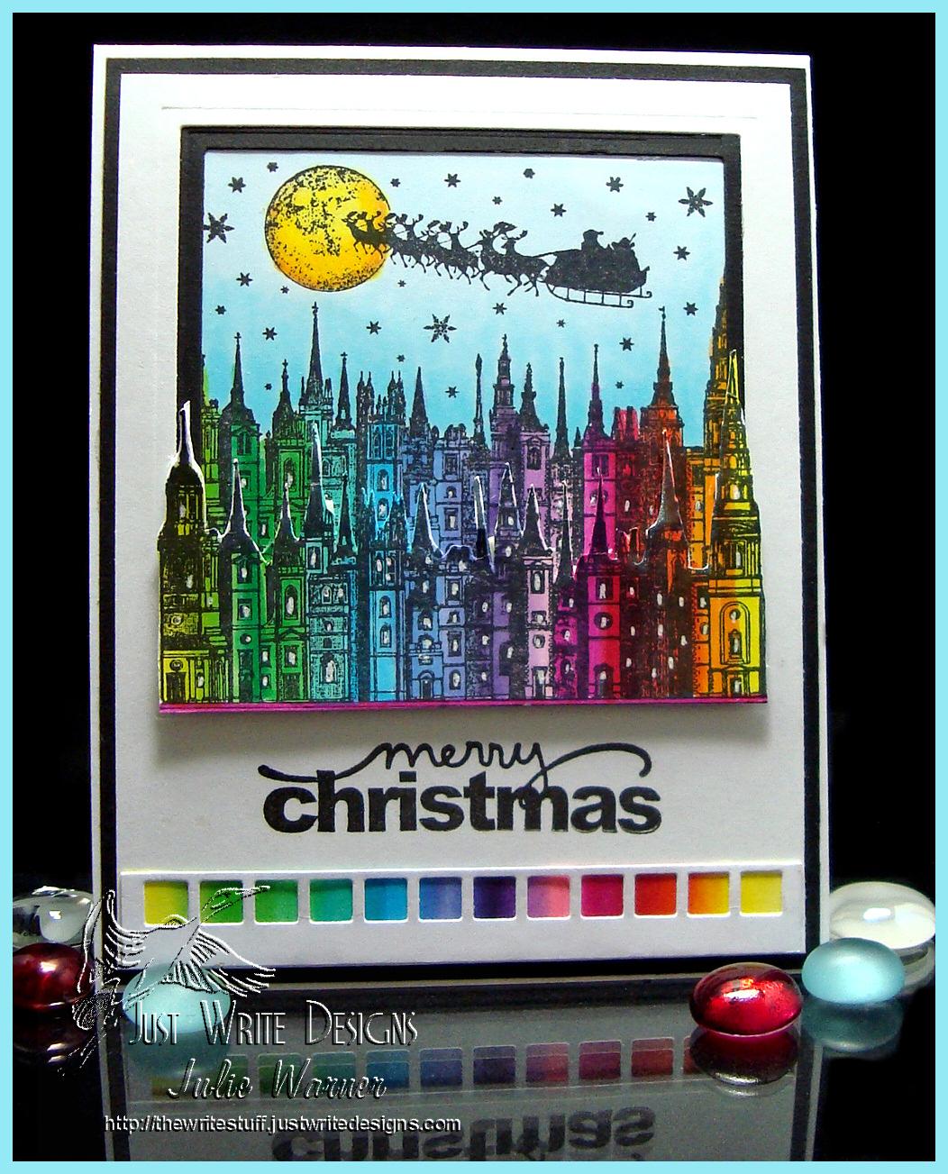 Christmas Rainbow 04145