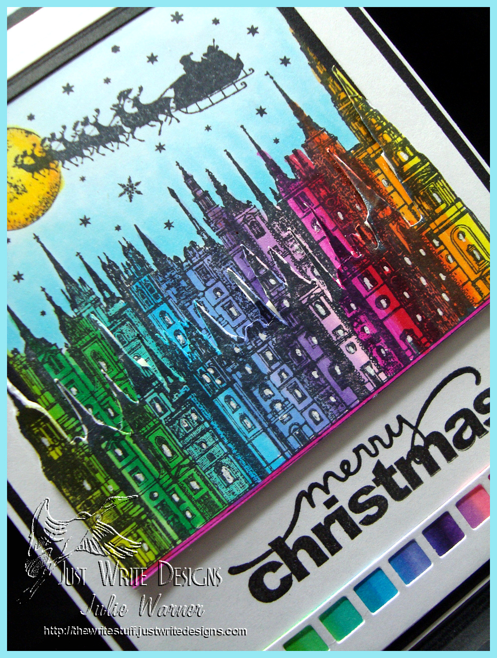 Christmas Rainbow cu04147