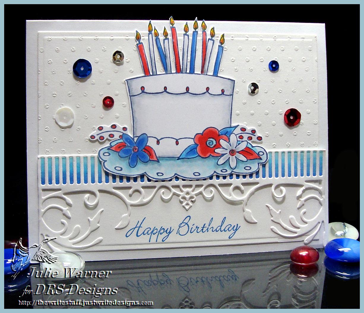 RWB Bday cake 04052