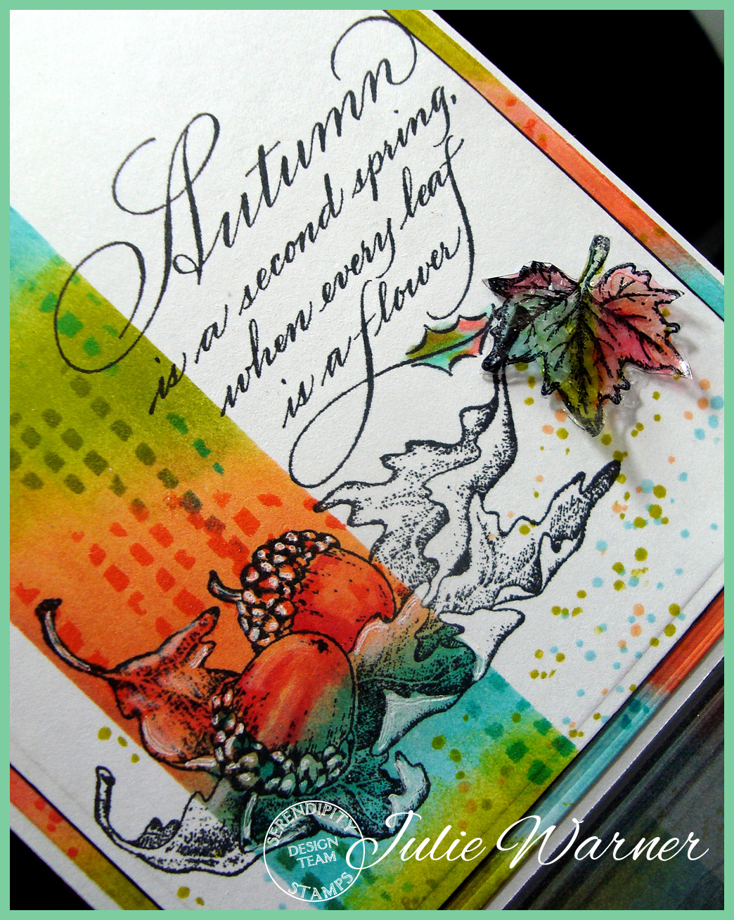 Autumn Flowers cu04502
