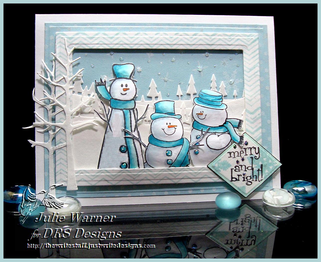 Snowman Trio 04263