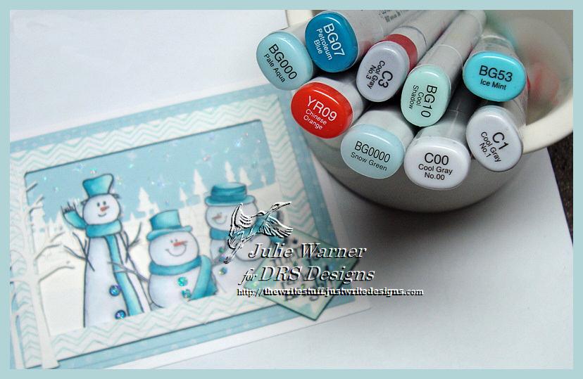 Snowman Trio copics 04262