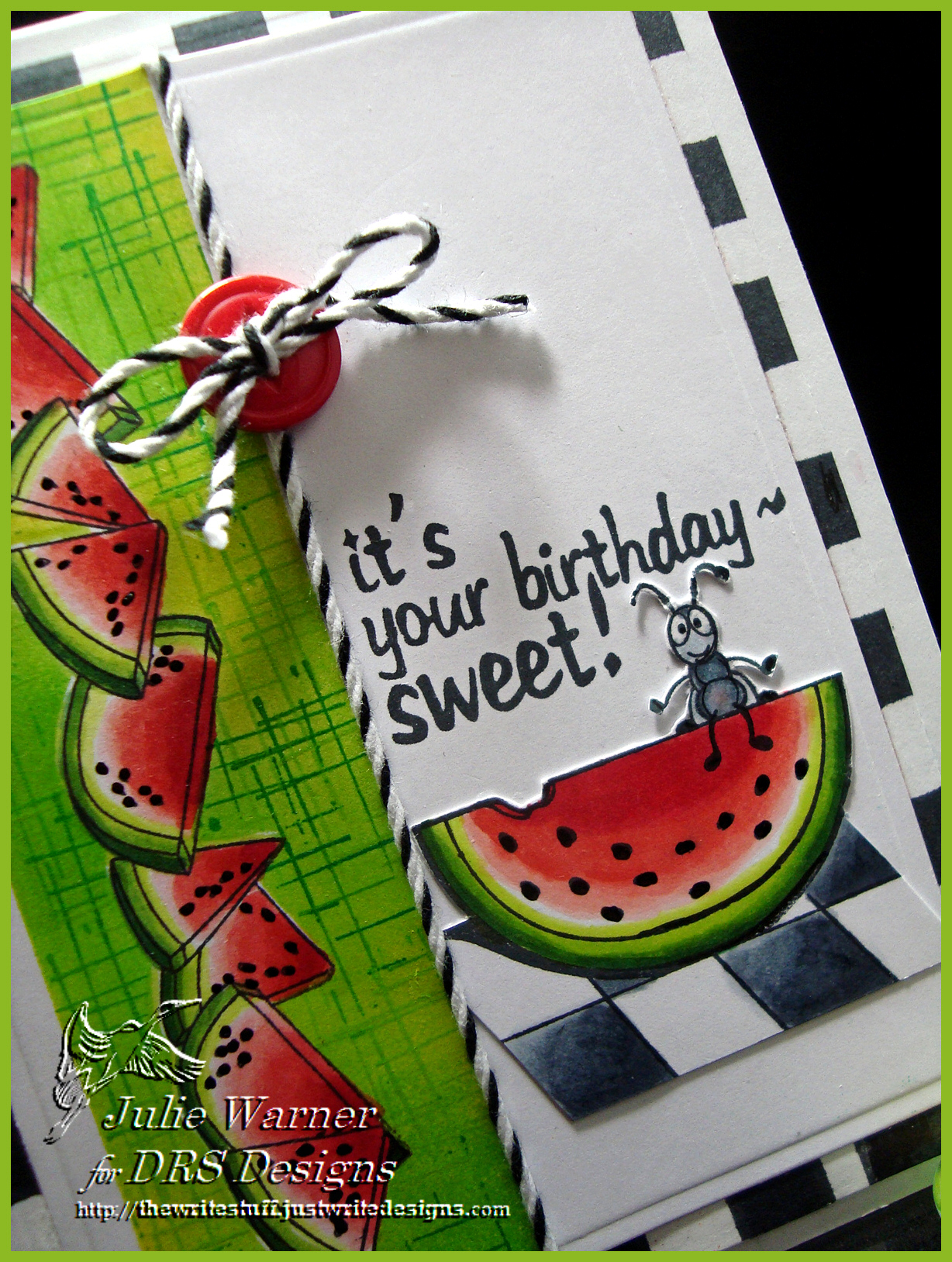 Sweet Watermelon Bday cu 04299