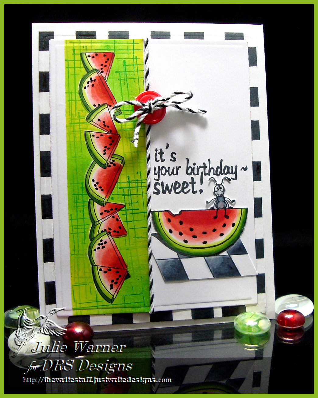Sweet Watermelon Birthday 04297