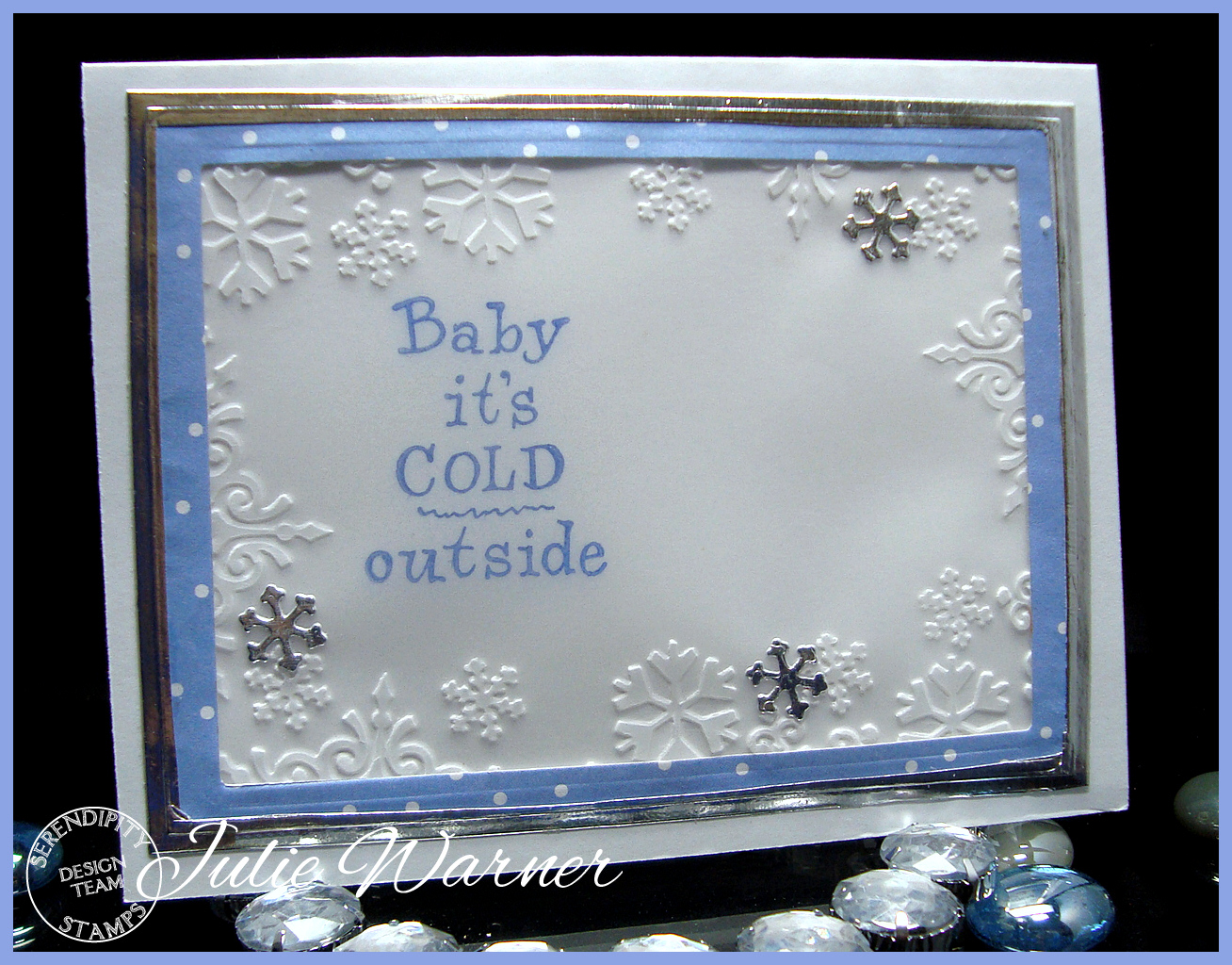 Embossed Snowflakes inside 04741