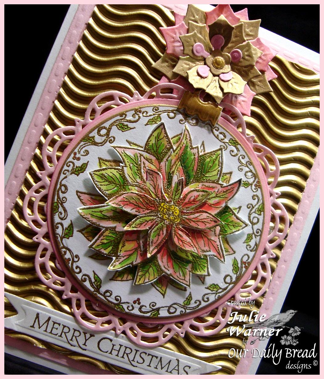 Gold Poinsettia cu 04685