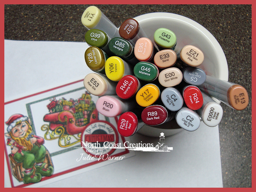 NCC Santas Elf copics 04705