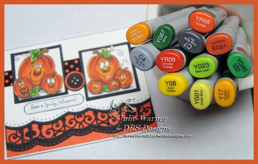 Spooky Jackolanterns copics 04581