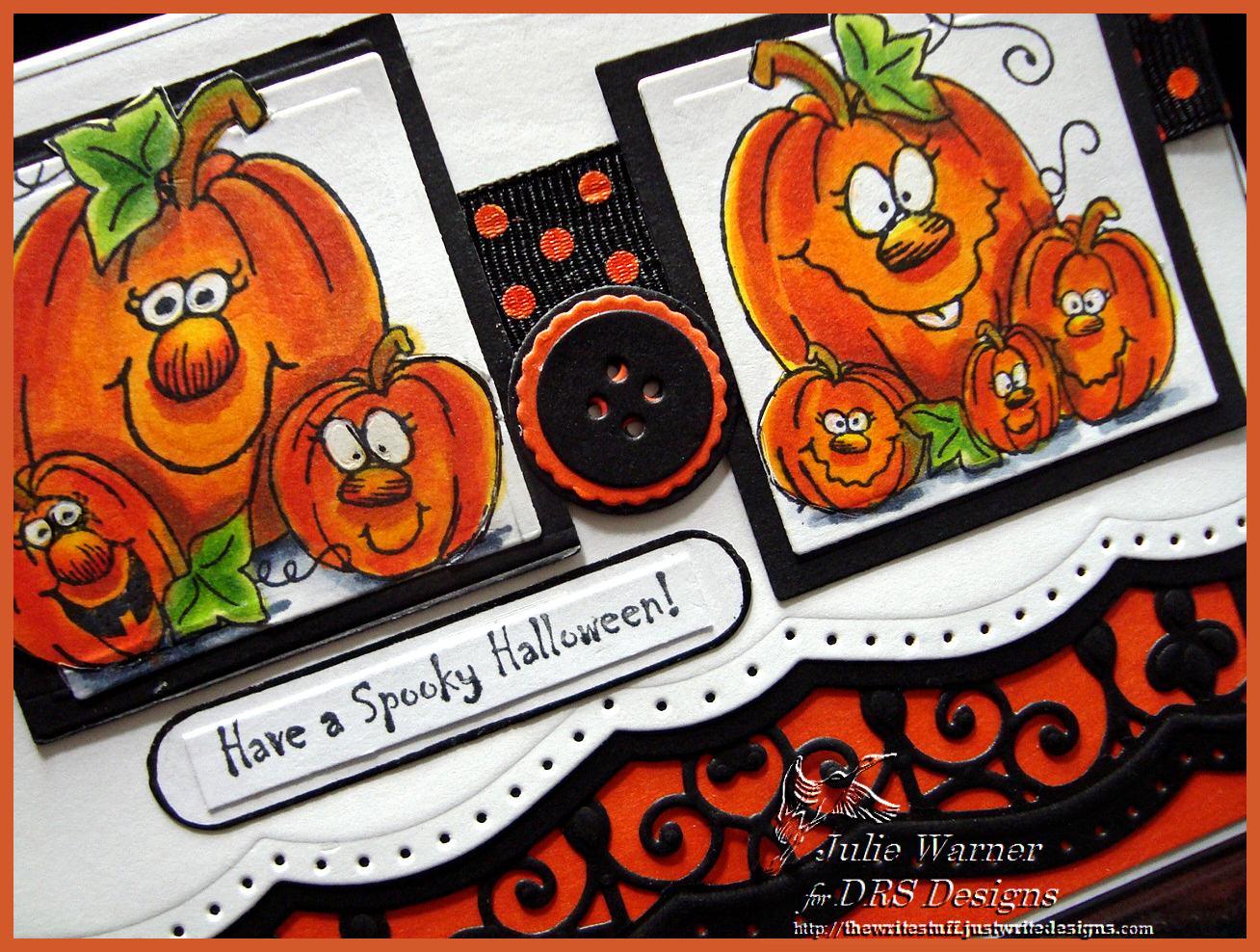Spooky Jackolanterns cu04587
