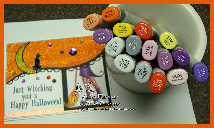 Witchy Halloween copics 04370
