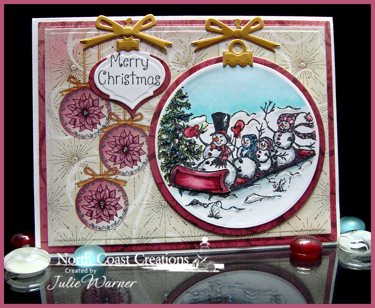 NCC Snow Family Ornament 04959