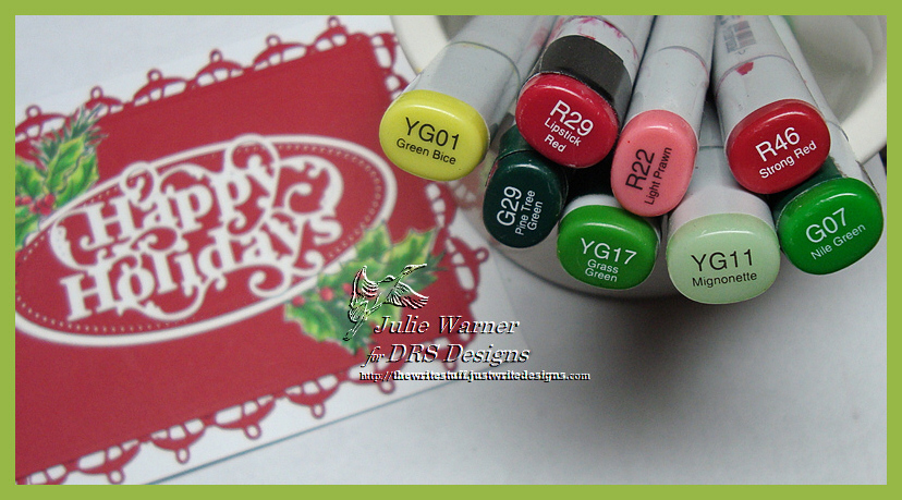 Holiday Red copics 05293