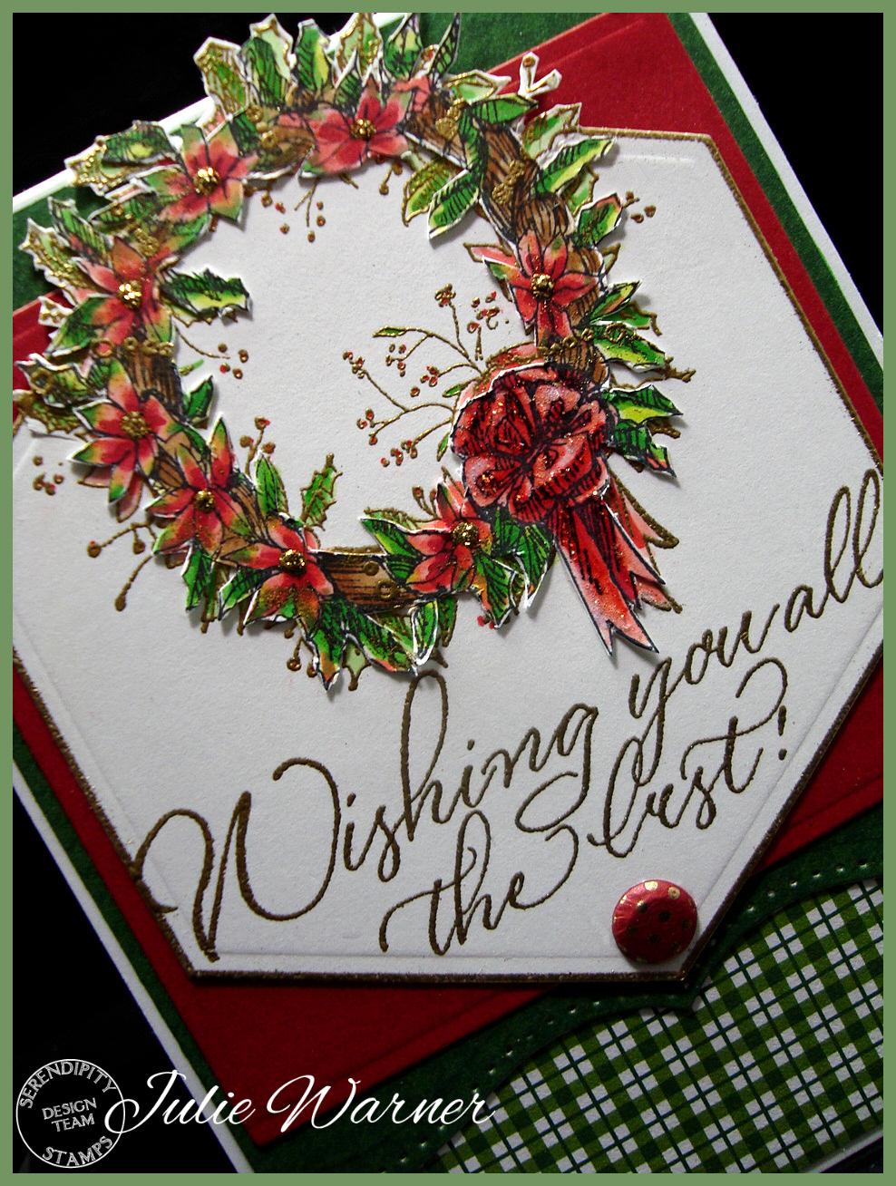 Holly Wreath cu 05315