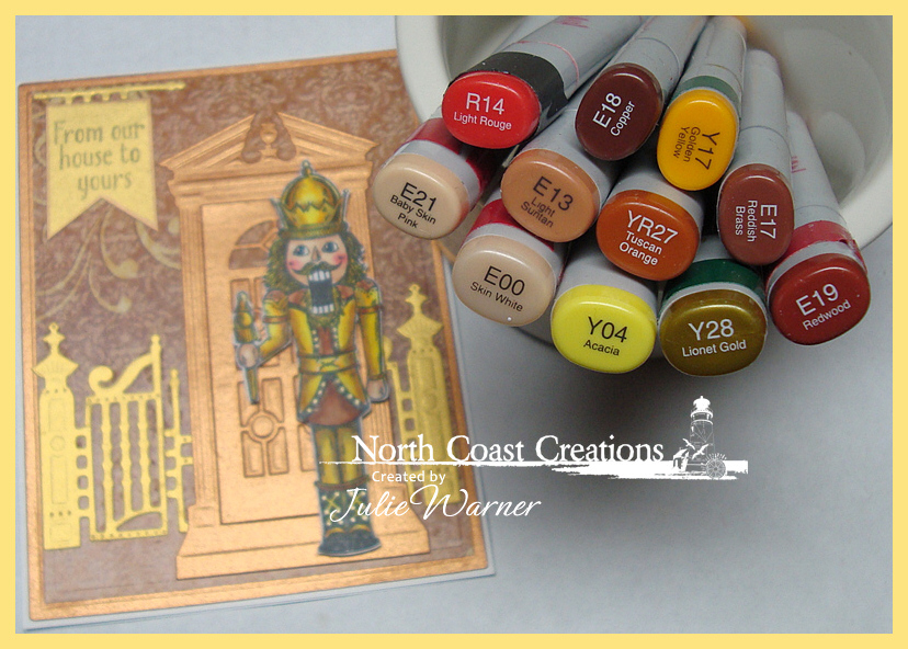NCC Gold Nutcracker copics 05106