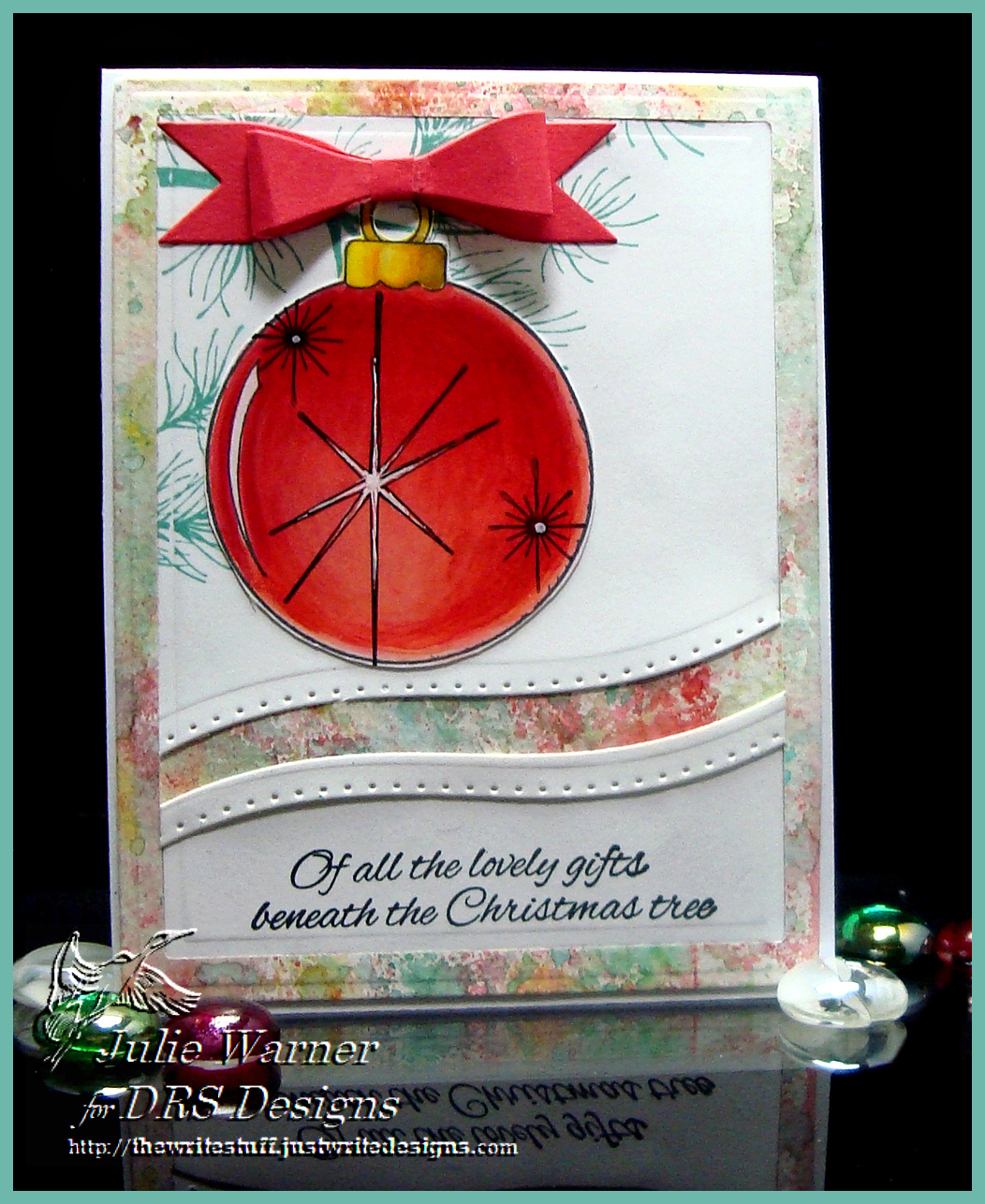 Red Ornament 05167