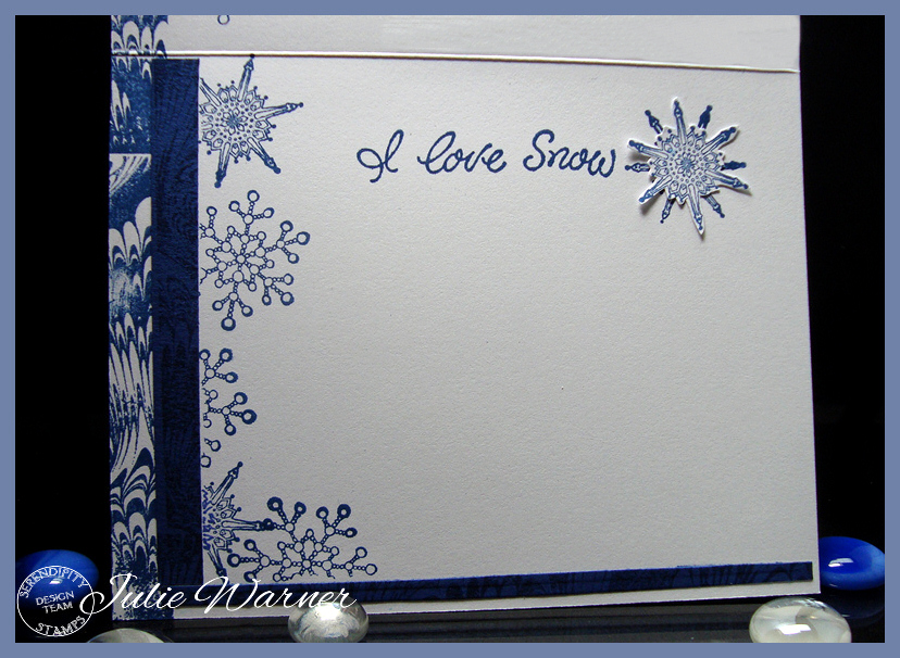 Blue Winter Town inside 05468