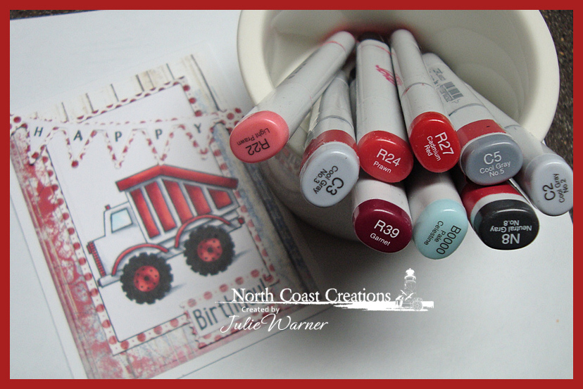 NCC Red Truck copics 05438