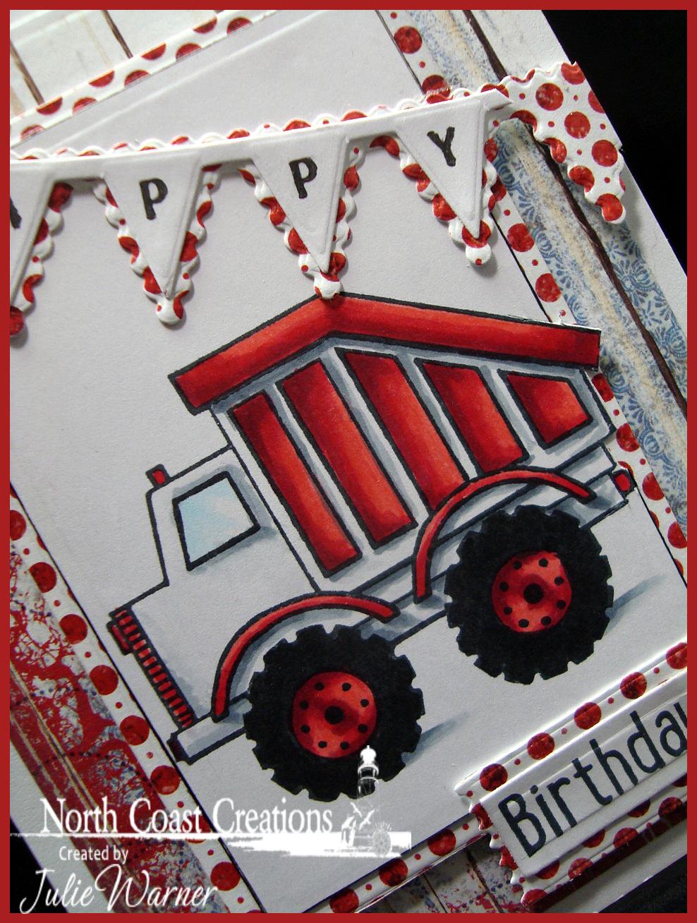 NCC Red Truck cu 05444