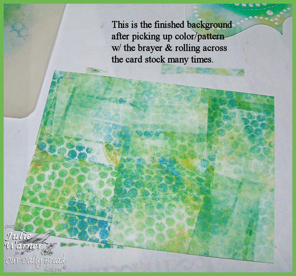 No gel plate step12 mat brayer 01514 odb