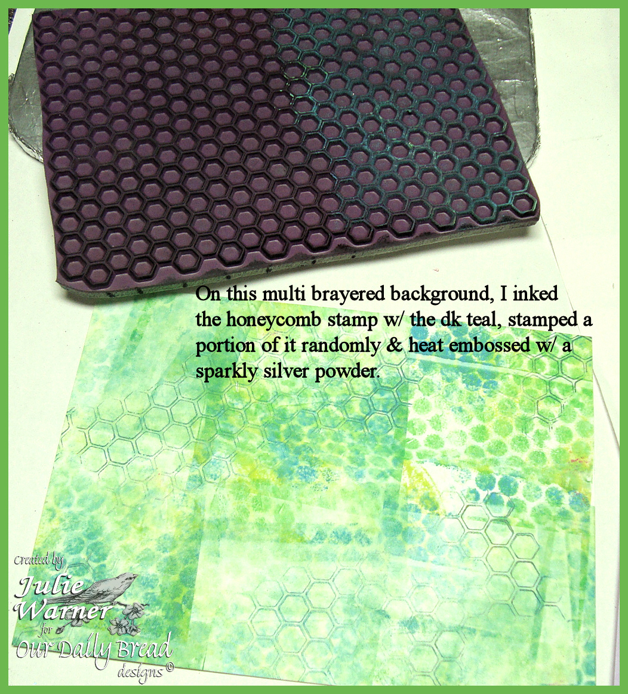 No gel plate step16 stamp 01525 odb