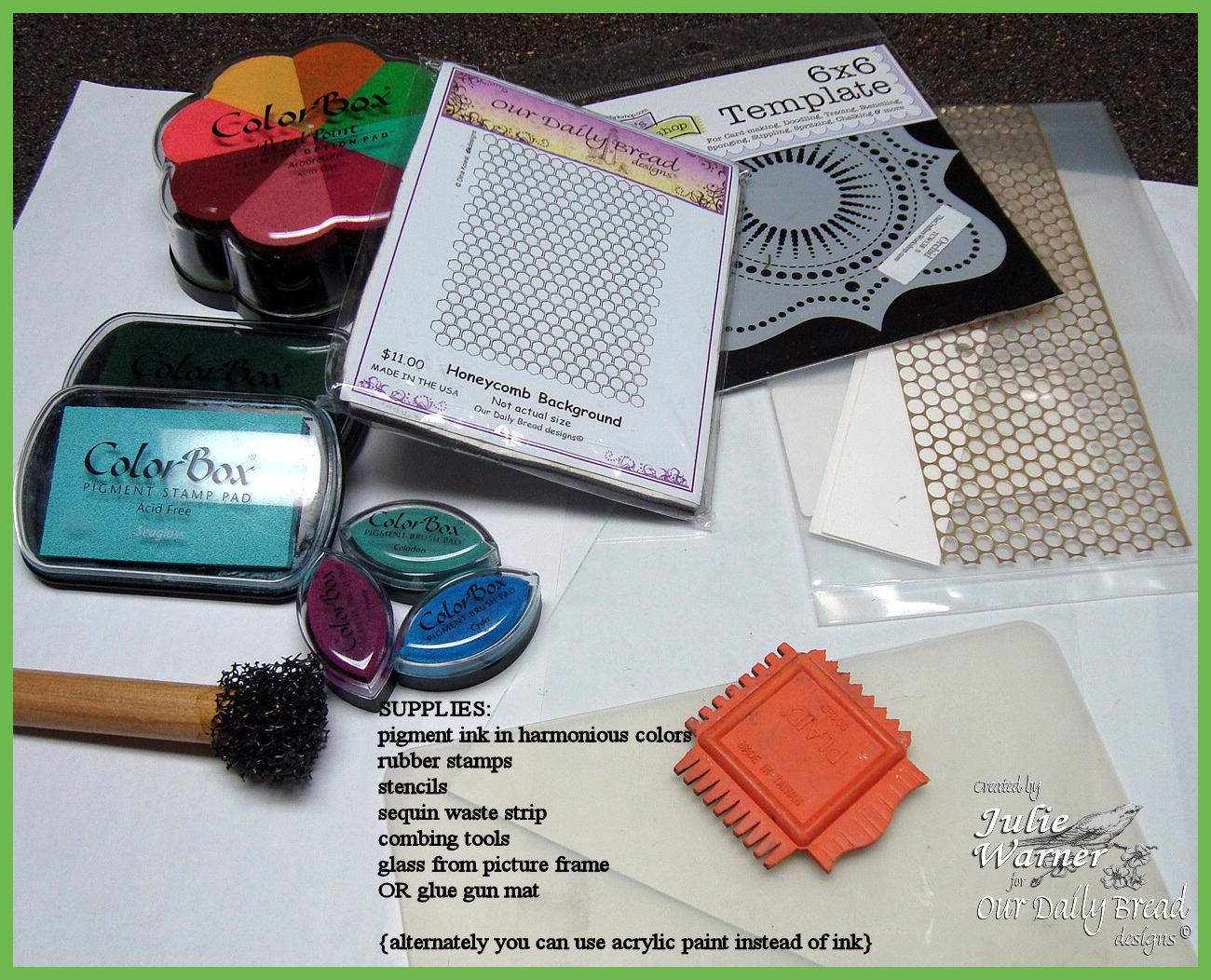 No gel plate supplies 01498 odb