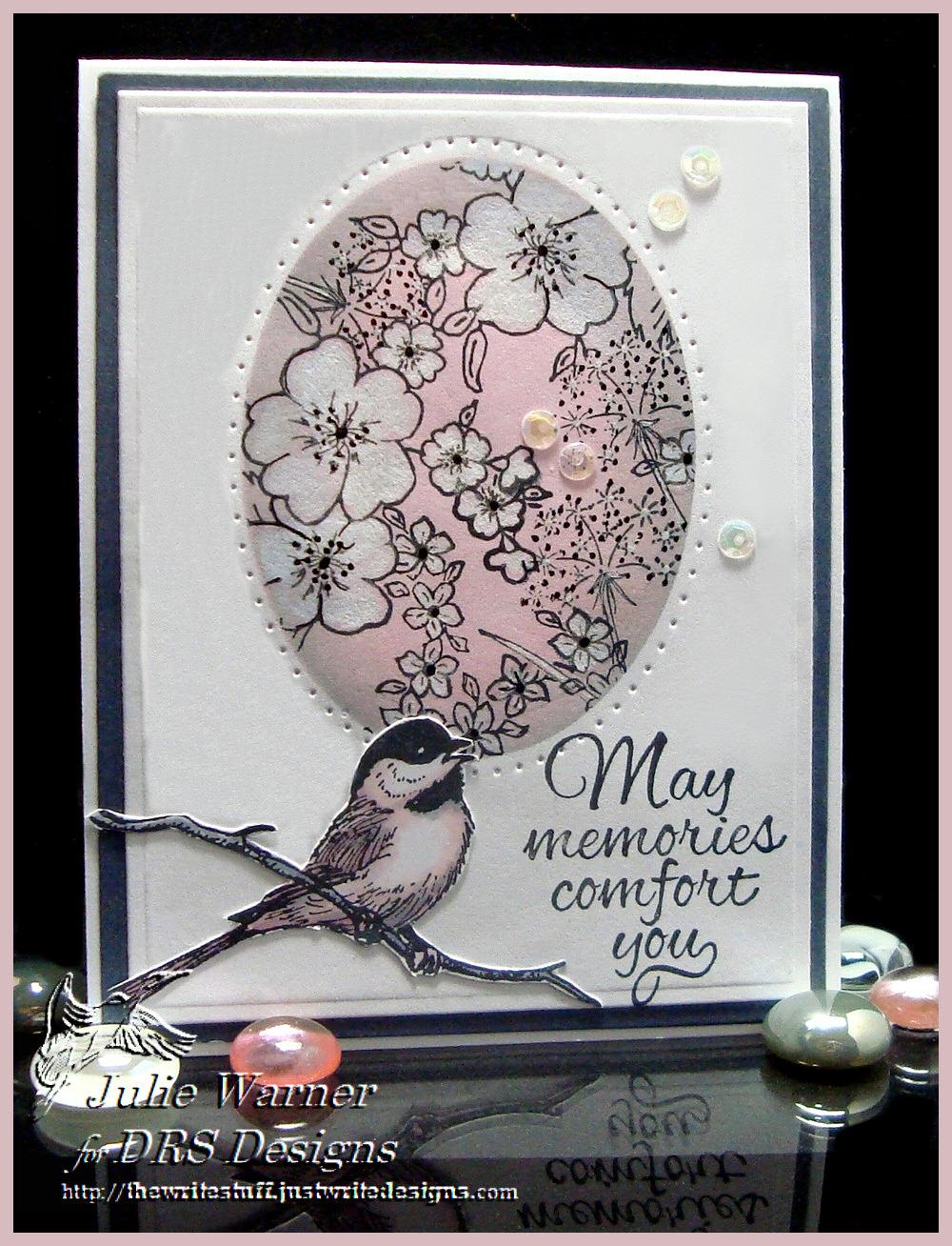 Floral Oval Sympathy 06108