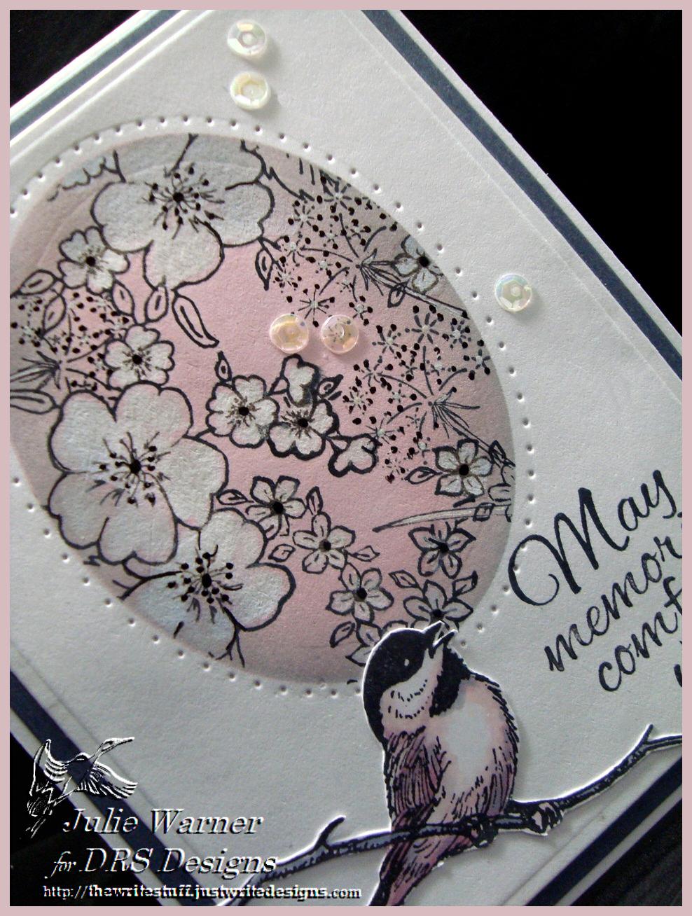 Floral Oval Sympathy cu 06107