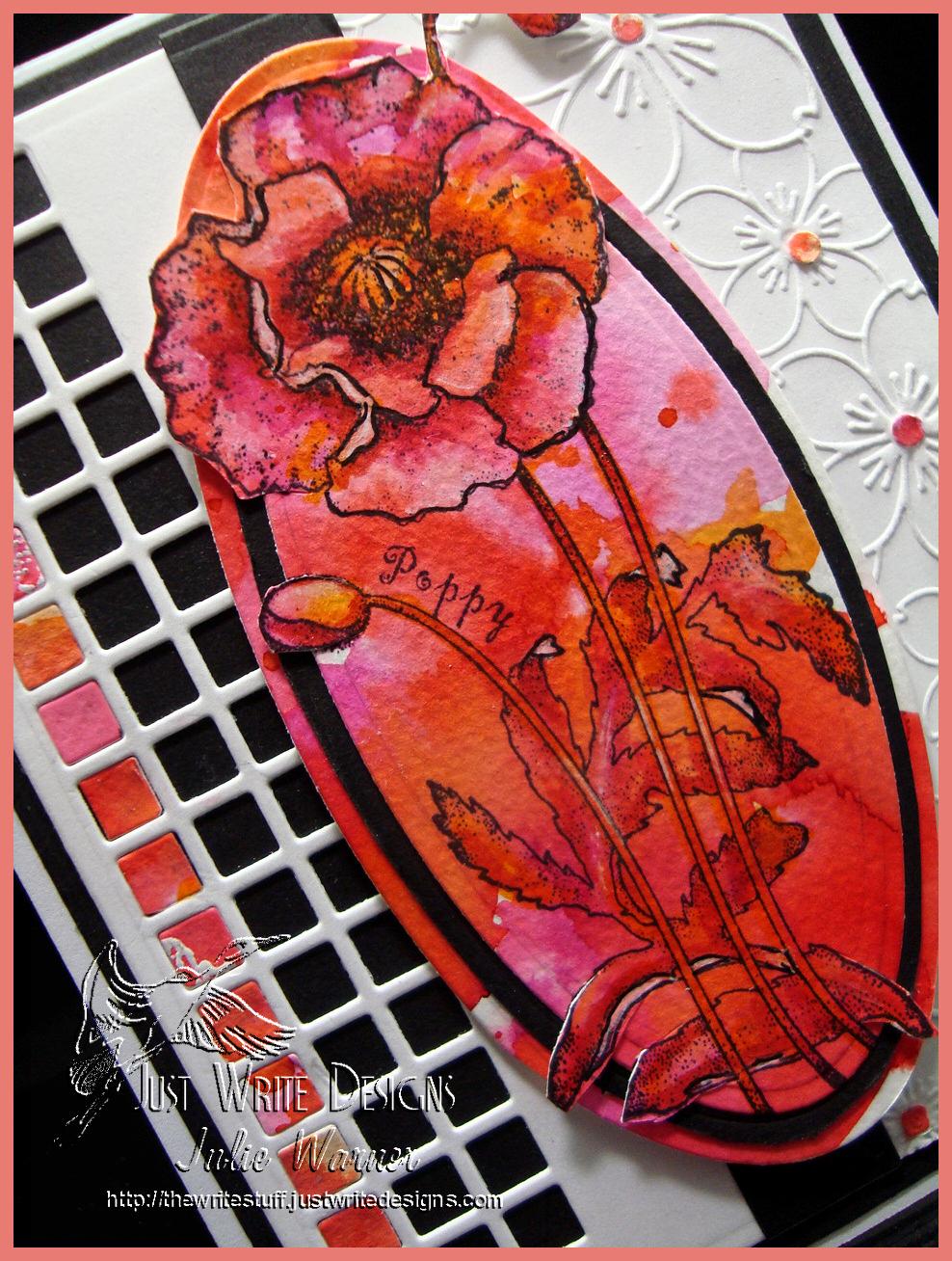 Poppy Sketch cu 06123