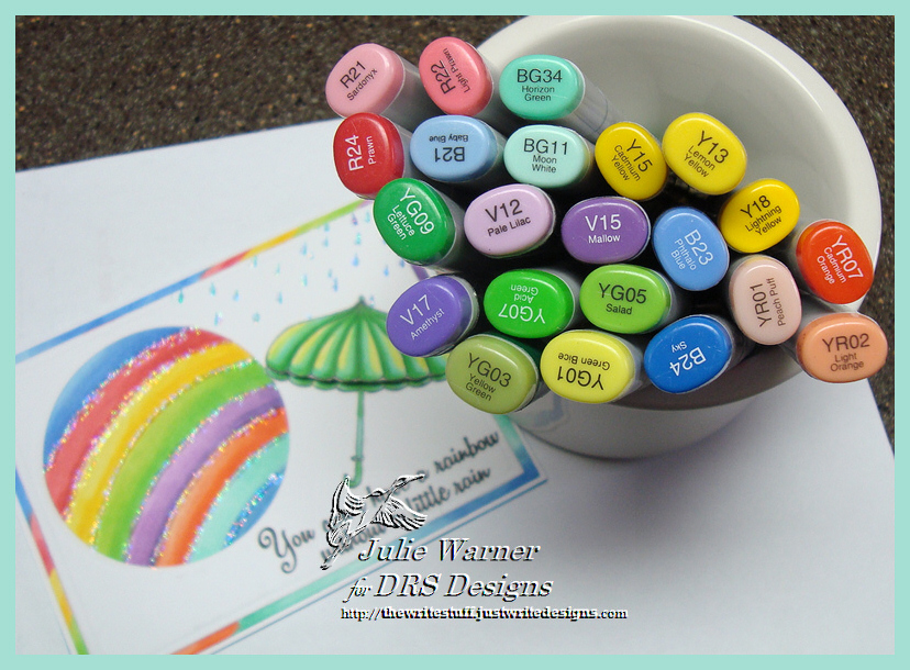 Rainbow Circle copics 06128