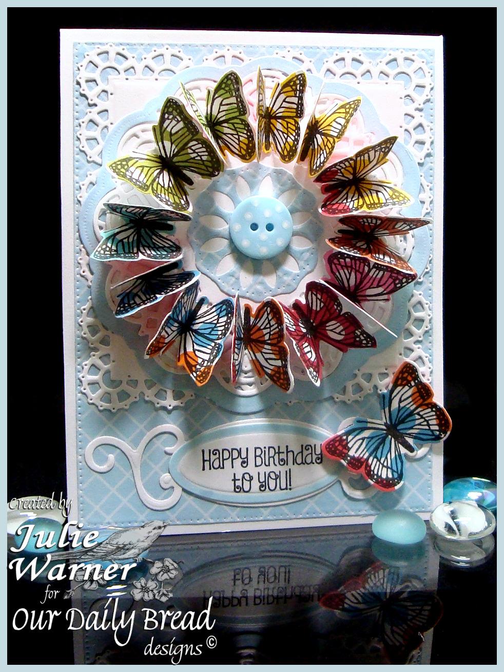 Butterfly Wreath 06350