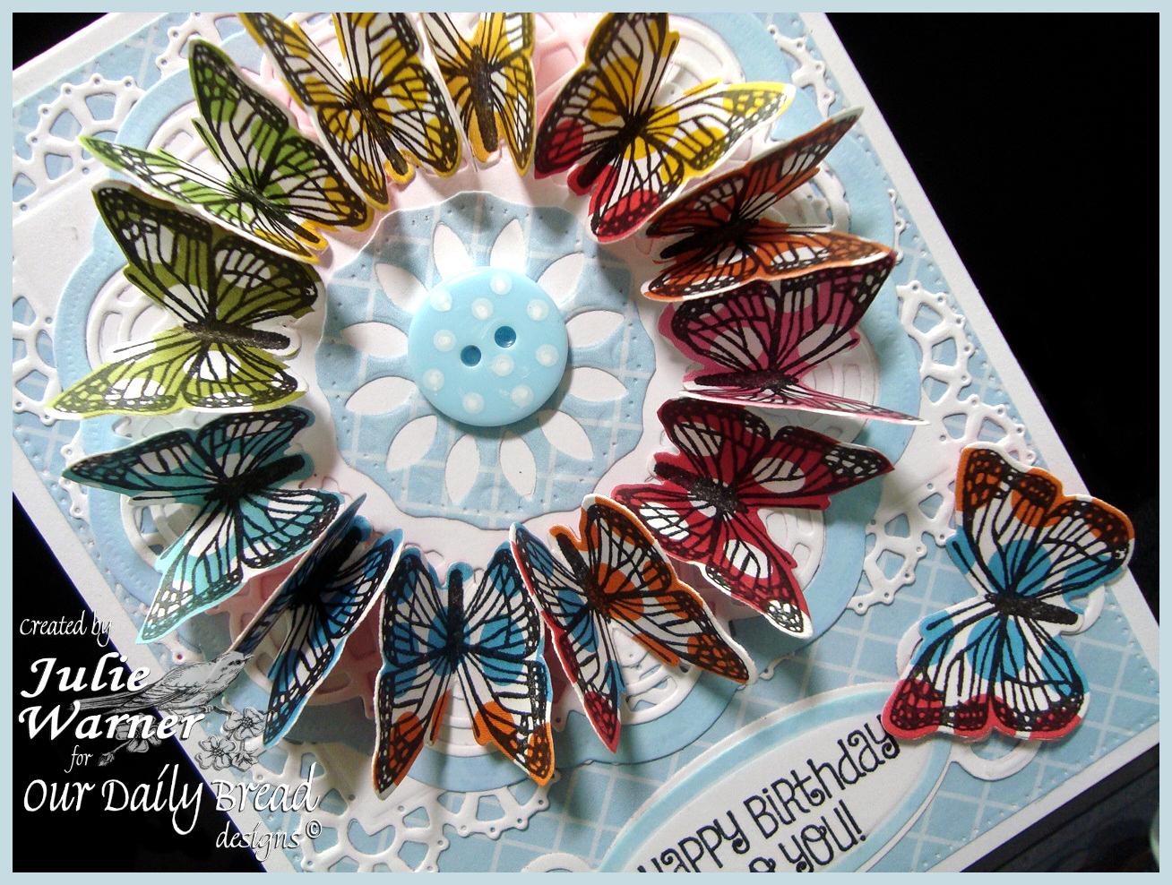 Butterfly Wreath cu 06353