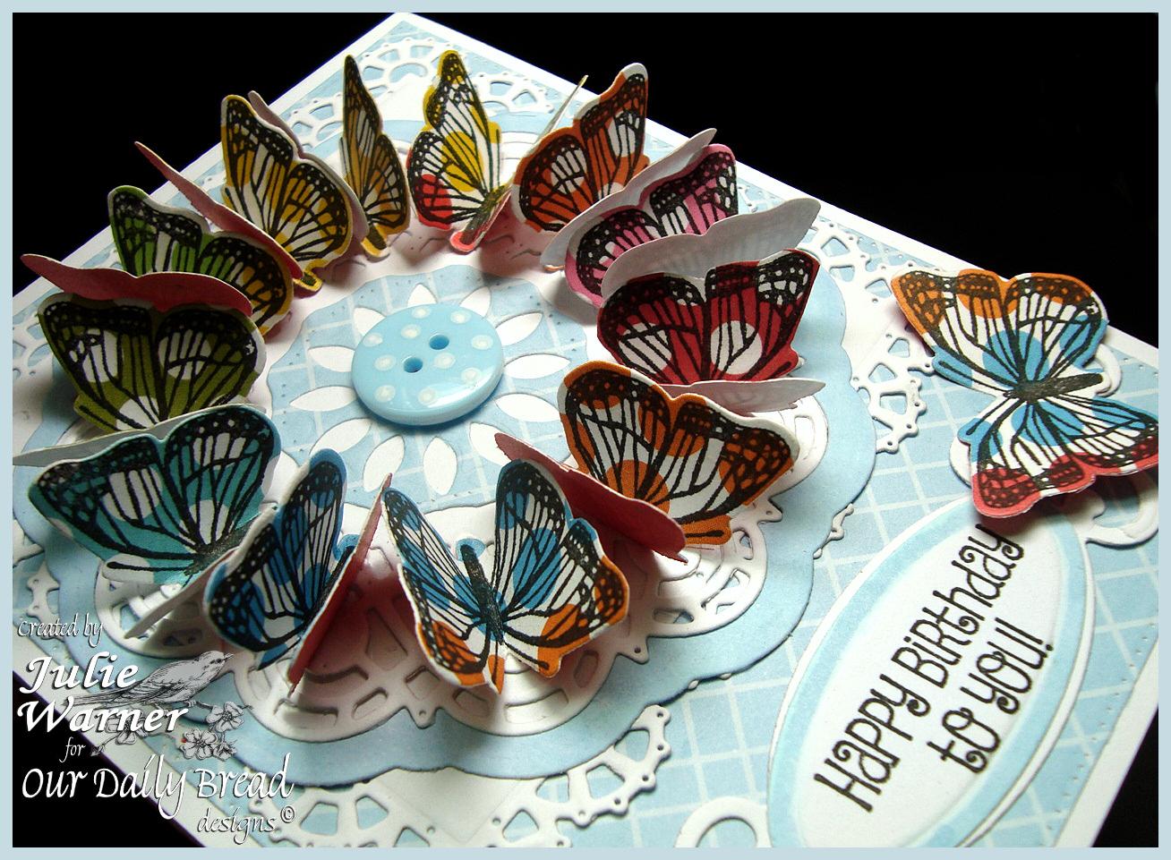 Butterfly Wreath xcu 06359